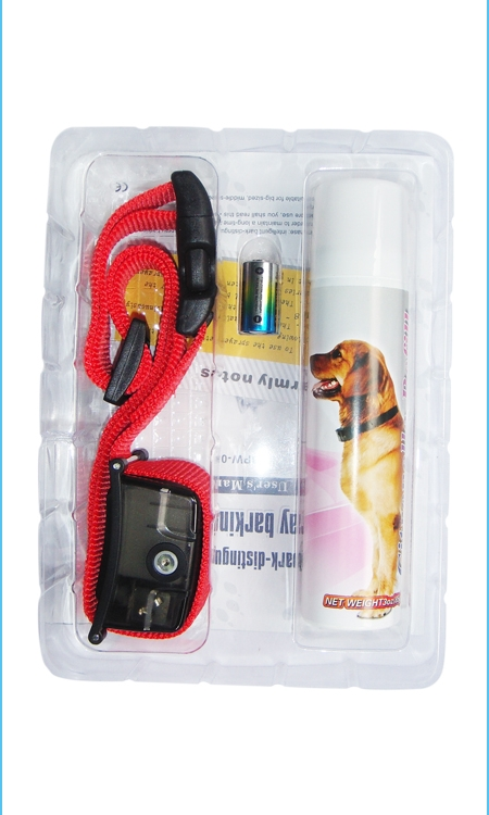 Medium Dog Deluxe Spray Bark Control Collar China Factory