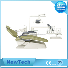 best dental chair with ce mark with high handpiece and low handpiece options