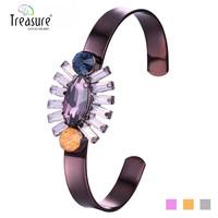 2015 Wholesale Colorful Fashion elephant pendant resin spiritual bead summer bracelet