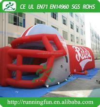 Inflatable football helmet, American Football Helmet Inflatable tunnel