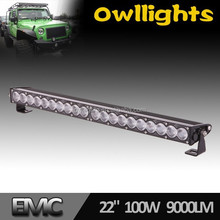 LED Driving Light 100W Boat ATV Bar SUV Truck Car Off Road Flood and Spot Beam Combo 20x5w 4x4 LED Offroad Work Lamp Bar