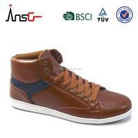 New model men casual shoes high cut men shoes,mens flat sole casual shoes
