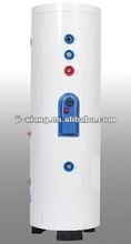200liter 300liter 500liter and 1000liters double copper coils heat exchanger water tanks