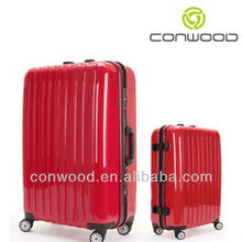 Aluminium frame Trolley Luggage ABS+PC film
