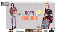 online shopping website template