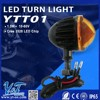 Y&T YTT01 motorcycle front headlight, mini led headlamp, Turn Signals Indicators for motorcycle