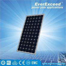 EverExceed 310w 156*156 Monocrystalline Solar Panel warranted for 5 years