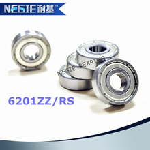 2015 popular type 6201 ZZ RS ball bearings