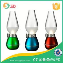 2015 Wide varieties indoor battery operated led table lamp for drawing room