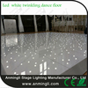 wireless surface high gloss white acrylic starlit led dance floor adjustable size
