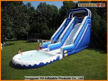 big vinyl commercial inflatable water fun city