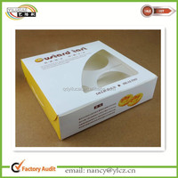 Custom Quality Paper Bread Box with Clear Window