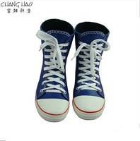 Smart Boy Cartoon Character Rubber Layer Is Attractive, Cute Canvas Shoes Shape