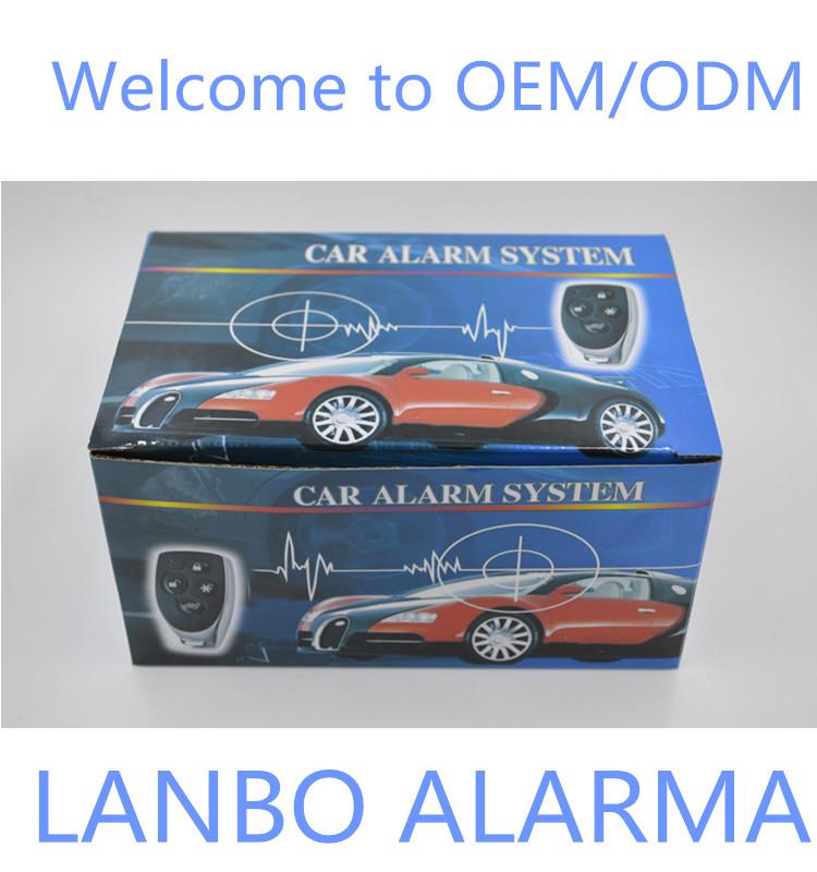 One Way Car Alarm System With Manual Central Door Lock/unlock Lb-102 ...