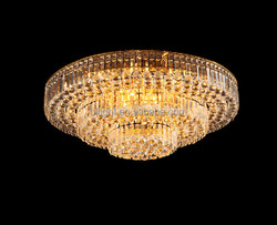 CE approval crystal ceiling light replacement solar light panel