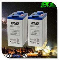 Maintenance free sealed lead acid battery 2V 500Ah vrla battery for sale