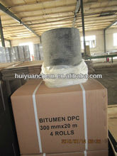 factory: 30m/length, bitumen roofing felt with two sides fine sand