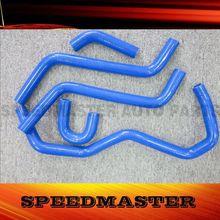 blue color ATV radiator hose parts for sale for Yamaha YXR450/660 Rhino 04-08