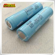 Shenzhen supplier samsung 18650 battery 3.7V 2500mAh 30A IMR battery 18650 IMR battery