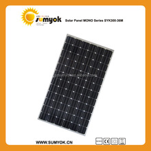 High efficiency Mono 300W solar panel with good quality for USA market