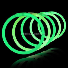Novelty 8'' Green Glow Bracelets for Discount Parth Favors