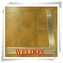 Custom Fabrication Stainless Steel metal Sink filter / Floor drain