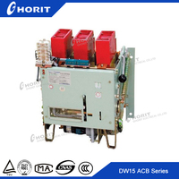 DW15 Series 630A Air Circuit Breaker For Equipment Protection smart circuit breaker