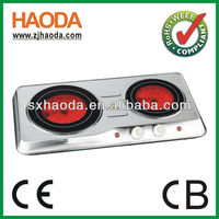 A13 approval electric home plate cooking stove