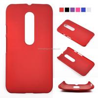 Slim Oil Matte Skin PC Hard Back Cover Phone Case for Moto G3