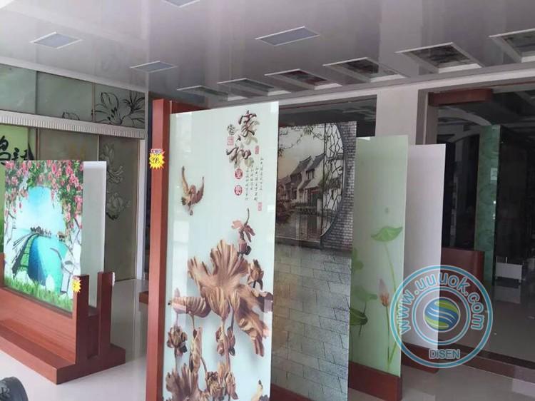 Industrial  high precision decoration industries UV ceramic tile printing machine