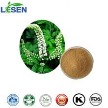 100% Natural Black Cohosh P.E. Cimicifuga Romose L. with Triterpenoid Saponins 2.5%