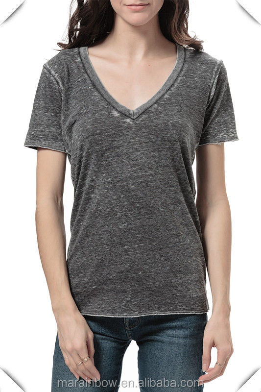 Browse Our Huge In Stock Inventory of Women's V-Neck T-Shirts Shop our extensive collection of wholesale Womens v-neck t-shirts with a best price guarantee. We carry several different styles including the junior cut, missy cut, and even the deep v-necks that continue to grow in popularity.