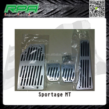 Sport Style Pedals for Sportage MT Aluminum Pedal Pads