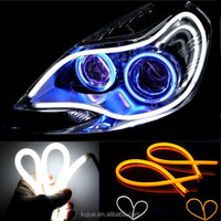 LED Angel Eye Headlight with Turning Sign/Daytime Running Light/Flexible LED DRL