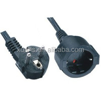 Euro vde extension power cord with KEMA,CE/GS,ROHS approval