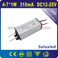 7w 350ma constant current led driver waterproof