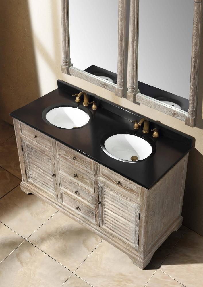 Granite Vanity Tops Product : Inch granite g stone bathroom single sink vanity top
