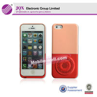 speaker shape pc hard mobile case for Iphone5