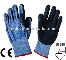 FQGLOVE safety cut resistant anti shock glove