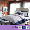 2015 Luxury 100% Cotton White queens size Hotel bedding set linen flat Bed Sheet Sets