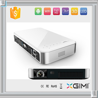 High resolution 1280*800 full hd 3d interactive projector mini smar phone proyector