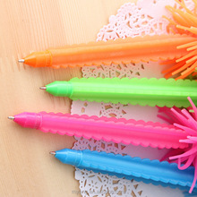 Creative Novelty LED cactus ball pen with led light ,advertising ball pen