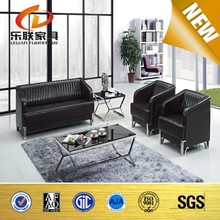 modern wooden sofa design popular leather office sofa