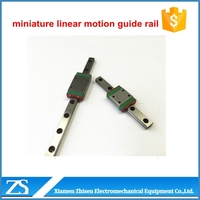miniature linear motion guide rail 9mm 12mm 15mm square