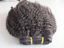 Alibaba Express Hair Products can be dyed and ironed hair extension unprocessed virgin peruvian Afro curl hair bundles
