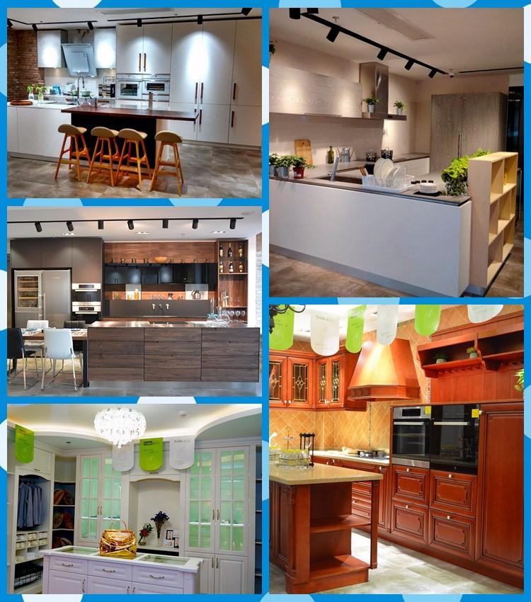 Moderne holz küchenschrank mit melamin küchenschrank türen nur ...