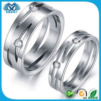 Fine Jewelry Stainless Steel Adjustable Rings