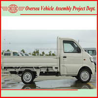 assemble 2WD gasoline Single Canbin Mini Truck with SKD/CKD parts