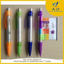 Banner publicidad bolígrafo scroll ball pluma