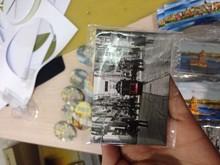 53X80 tourist Promotional metal fridge magnet